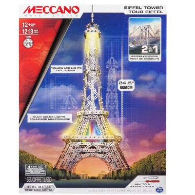 Meccano Meccano Tour Eiffet lumineuse