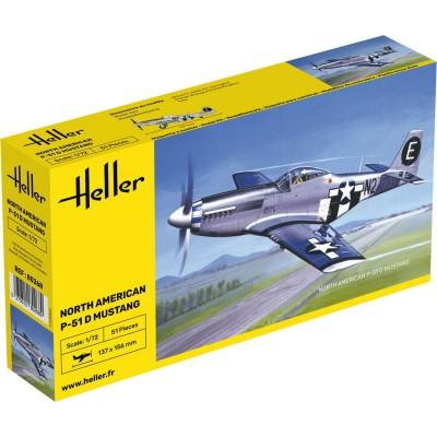 Heller Maquette avion: P-51 Mustang