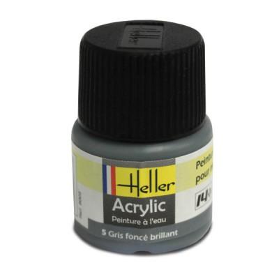 Heller 05 - gris foncé brillant