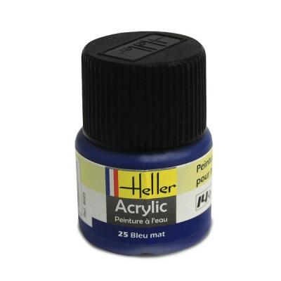 Heller 25 - bleu mat