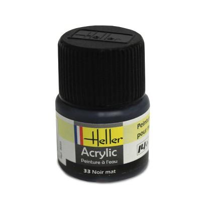 Heller 33 - noir mat