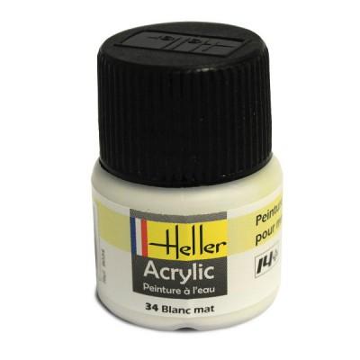Heller 34 - blanc mat