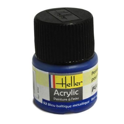 Heller 52 - bleu baltique métallique