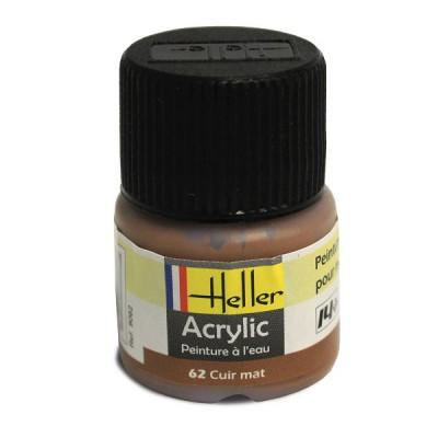 Heller 62 - cuir mat