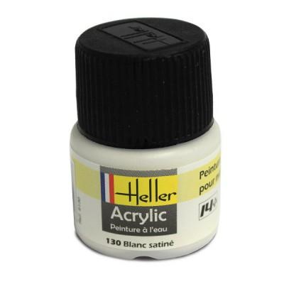 Heller 130 - blanc satiné