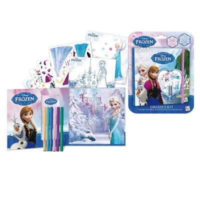 Imagination Ent. loisirs créatifs : kit de styliste la reine des neiges (frozen)