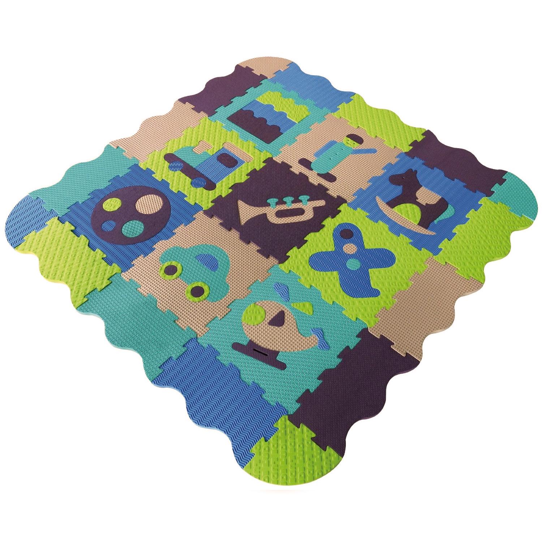 Tapis Puzzle En Mousse Composu00e9 De 36 Piu00e8ces Du00e9tachables Pictures to ...