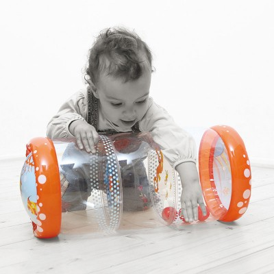 Ludi Rouleau gonflable : Baby Roller Corail