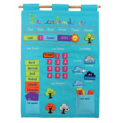 calendrier basic bleu ludi magasin de jouets pour enfants. Black Bedroom Furniture Sets. Home Design Ideas