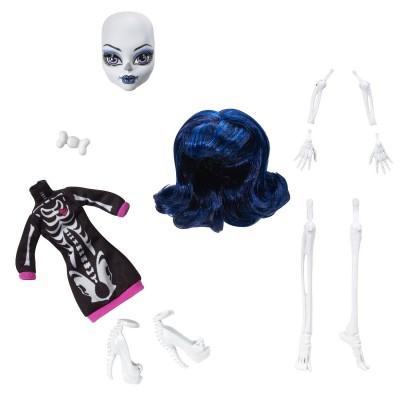 Mattel Poupée Monster High Créa'Terreur : Squelette