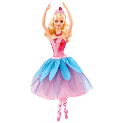 Barbie ballerine rouge de mattel - Barbie danseuse magique ...