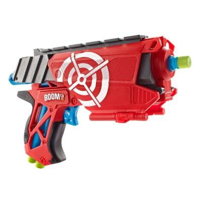 Mattel Jeu de tir : Pistolet à fléchettes Boomco Farshot