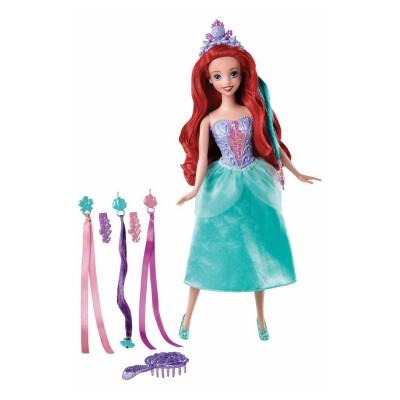Mattel Poupée mannequin Coiffure de princesse : Ariel