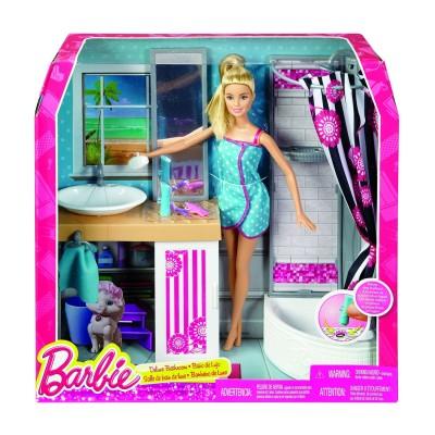Mattel Barbie : Salle de bain deluxe