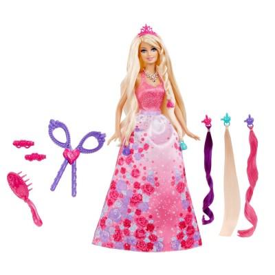 Mattel Poupée Barbie : Princesse Chevelure