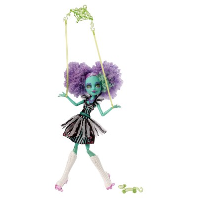 Mattel Poupée monster high : freak du chic : honey swamp