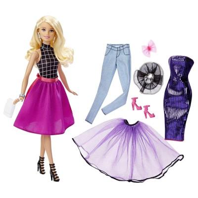 Mattel Poupée Barbie Tenues à combiner blonde