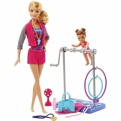 Mattel Poupée Barbie : Professeur de gym