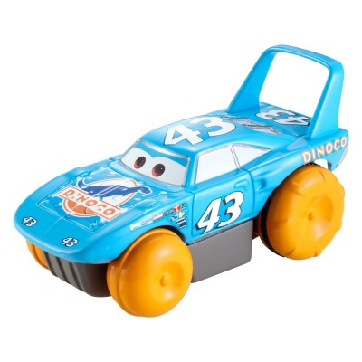 Mattel Véhicule nageur Cars : Strip Weathers alias The King
