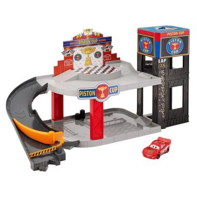 Mattel Garage Piston Cup Cars