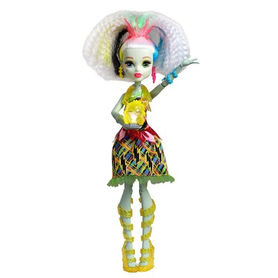 Mattel Poupée monster high voltastique : frankie stein