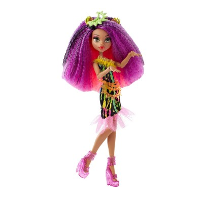 Mattel Poupée monster high electrisant : clawdeen wolf