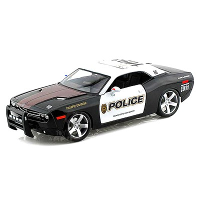 Maisto Modèle réduit Voiture de Police : Collection Special Edition : 2006 Dodge Challenger Concept 1/18ème