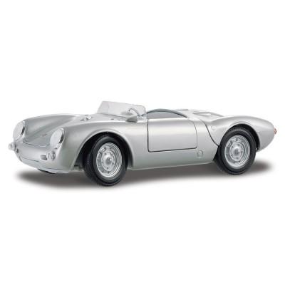 Maisto Modèle réduit Porsche 550 A Spyder Echelle 1/18 : Gris