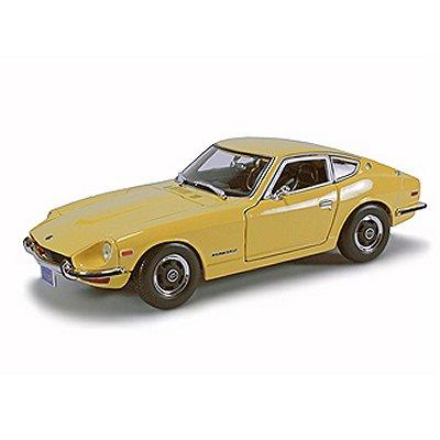 Maisto Modèle réduit - Datsun 240Z 1970 - Echelle 1/18 : Jaune