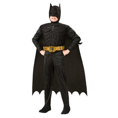 Rubie's Déguisement batman : panoplie luxe 3d : 8/10 ans