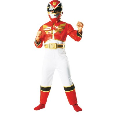 Rubie's Déguisement power rangers : panoplie luxe power rangers megaforce 5/6 ans
