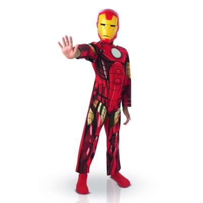 Rubie's Déguisement Iron Man Classique : 3/4 ans.