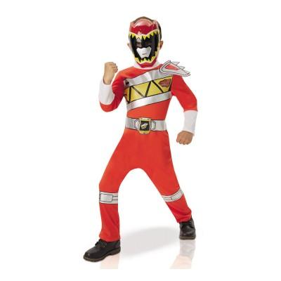 Rubie's Déguisement Enfant Power Ranger Rouge : Dino Charge 5/6 ans