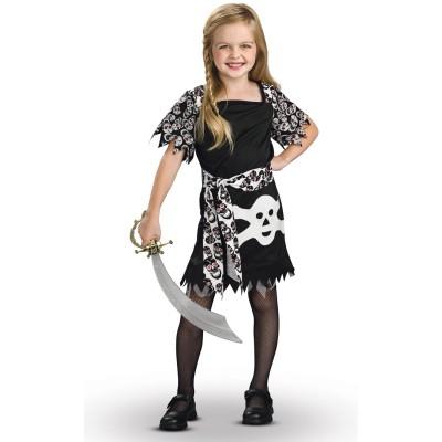Rubie's Déguisement pirate fille : 8/10 ans