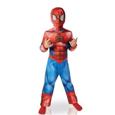 Rubie's Déguisement Classique Spiderman Ultimate : 7/9 ans