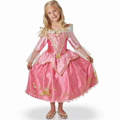 Rubie's Déguisement ballgown aurore : la belle au bois dormant : 7/8 ans