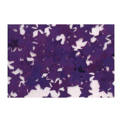 Rubie's Confettis Sac de 50 gr : Etoiles Métallisées violet