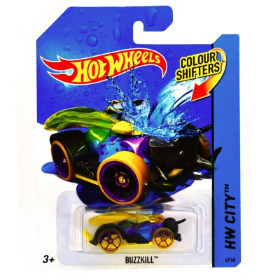 Hot Wheels voiture hot wheels : colour shifters : buzzkill
