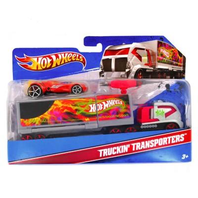 camion transporteur hot wheels et sa voiture camion cosmique hot wheels magasin de jouets. Black Bedroom Furniture Sets. Home Design Ideas