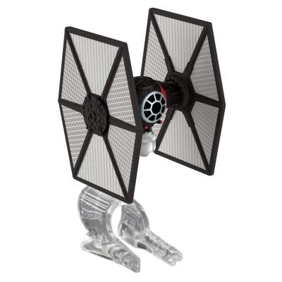 Hot Wheels mini vaisseau star wars hot wheels : tie fighter forces spéciales du premier ordre