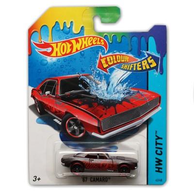 Hot Wheels voiture hot wheels : colour shifters : '67 camaro