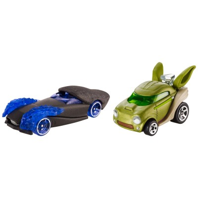 Hot Wheels véhicules hot wheels star wars : yoda et empereur palpatine