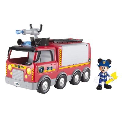 Imc Toys camion de pompier électronique de mickey