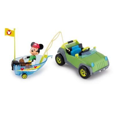 Imc Toys 4x4 et bateau de mickey