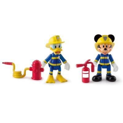 Imc Toys figurines disney : mickey et donald sauveteurs