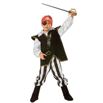César Déguisement pirate : 8/10 ans
