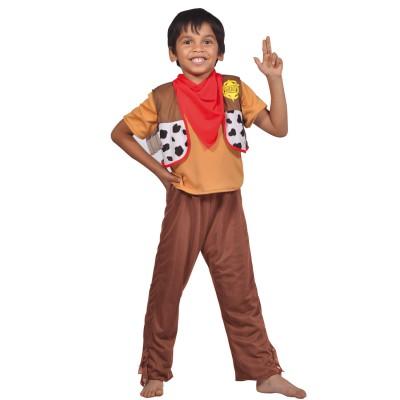 César Déguisement 3 en 1 : Cowboy, Indien, Pirate : 8/10 ans