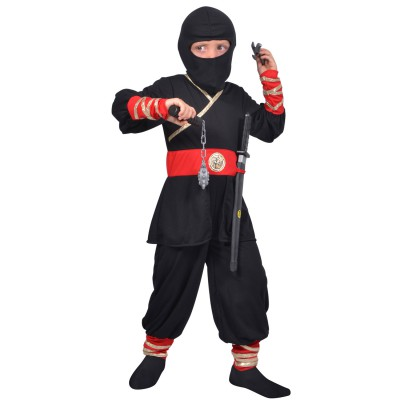 César Déguisement ninja (avec accessoires) : 5/7 ans