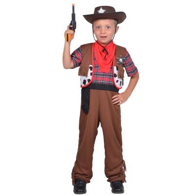 César Déguisement 2 en 1 : cowboy et pirate : 5/7 ans