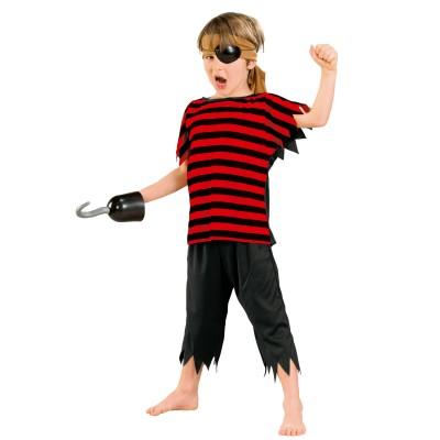 César Déguisement pirate avec crochet : 5/7 ans